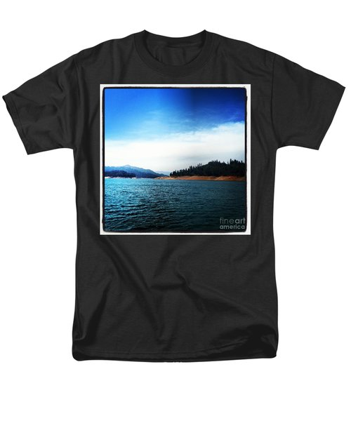 Men's T-Shirt  (Regular Fit) featuring the photograph The Getaway by Luther Fine Art