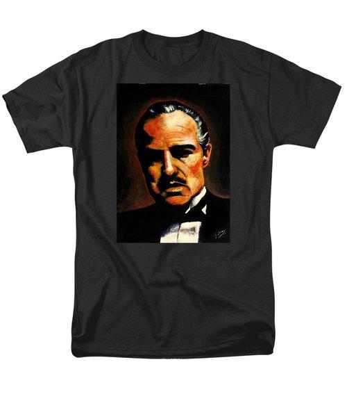 Men's T-Shirt  (Regular Fit) featuring the painting Godfather by Salman Ravish