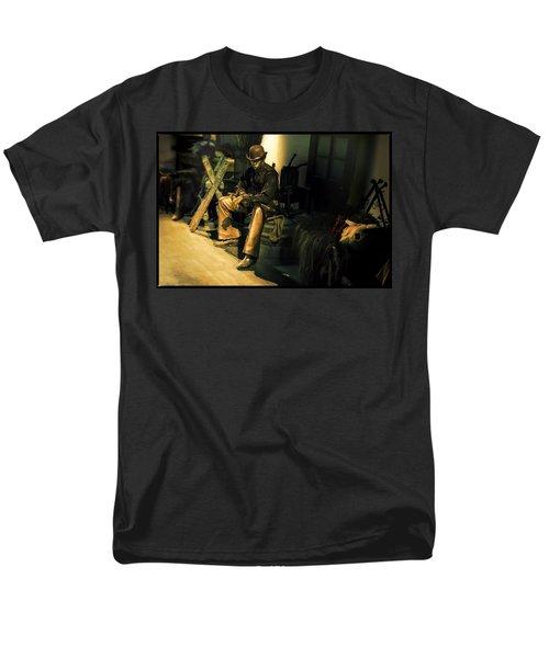 The Golden Cowboy Men's T-Shirt  (Regular Fit) by Diane Dugas