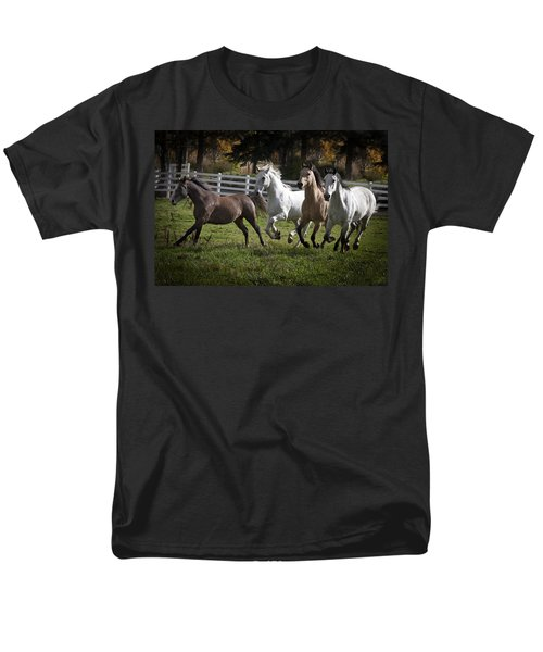 Men's T-Shirt  (Regular Fit) featuring the photograph The Goldendale Four 7277 by Wes and Dotty Weber