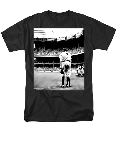 The Greatest Of All  Babe Ruth Men's T-Shirt  (Regular Fit) by Iconic Images Art Gallery David Pucciarelli
