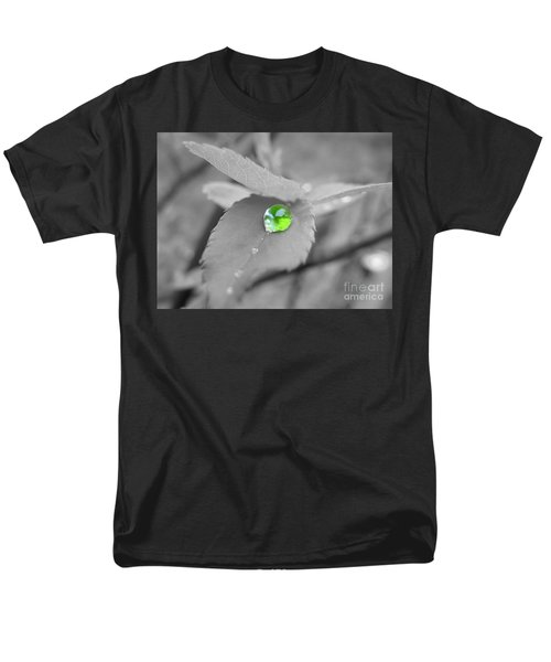 The Green Pearl Men's T-Shirt  (Regular Fit) by Patti Whitten