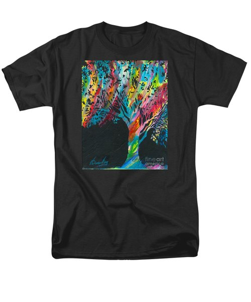 The Happy Tree Men's T-Shirt  (Regular Fit) by Denise Hoag
