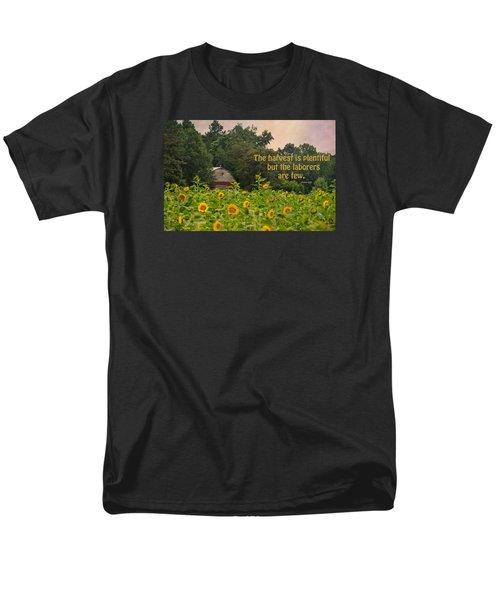 The Harvest Is Plentiful Men's T-Shirt  (Regular Fit) by Sandi OReilly