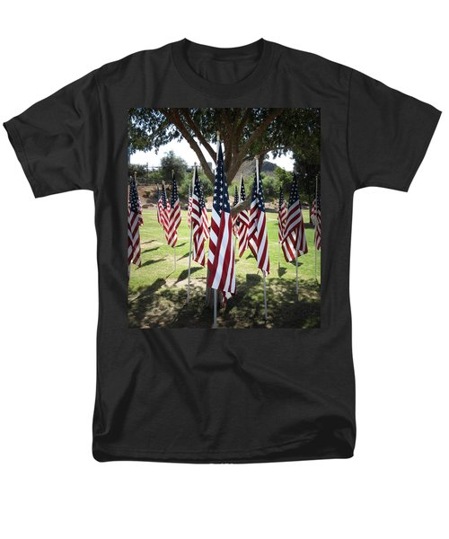 The Healing Field Men's T-Shirt  (Regular Fit) by Laurel Powell