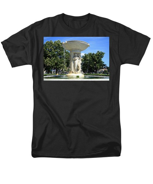 The Heart Of Dupont Circle Men's T-Shirt  (Regular Fit) by Cora Wandel