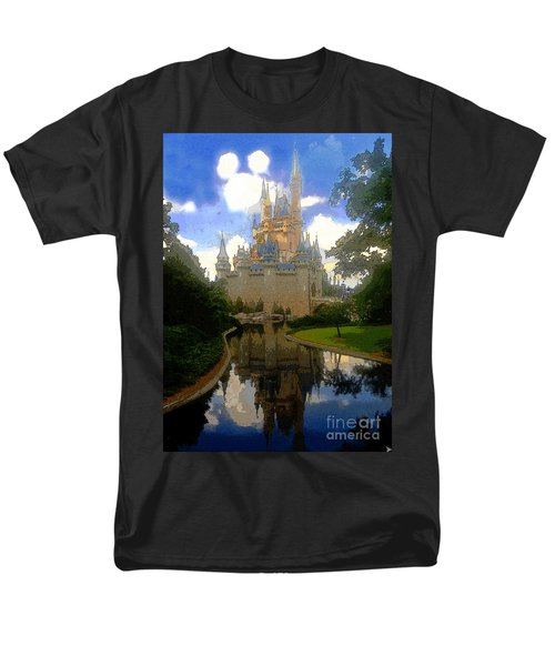 The House Of Cinderella Men's T-Shirt  (Regular Fit) by David Lee Thompson