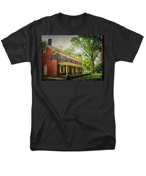 The John Stover House Men's T-Shirt  (Regular Fit) by Debra Fedchin