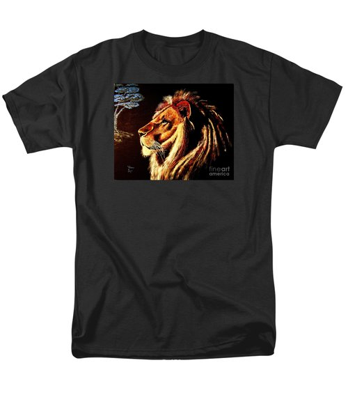 Men's T-Shirt  (Regular Fit) featuring the painting the King by Viktor Lazarev