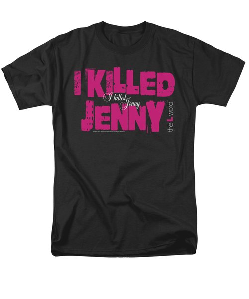 The L Word - I Killed Jenny Men's T-Shirt  (Regular Fit) by Brand A