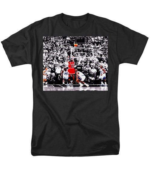 The Last Shot Men's T-Shirt  (Regular Fit) by Brian Reaves