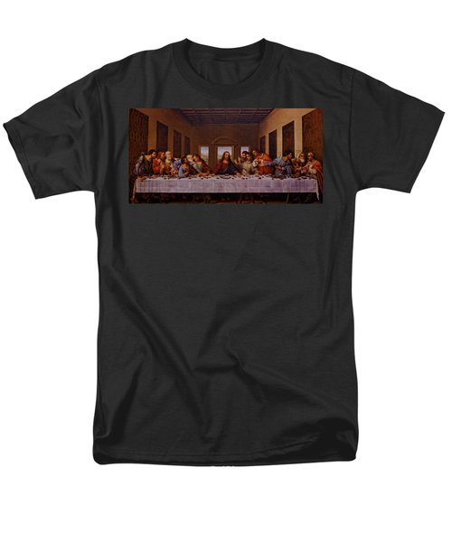 The Last Supper Men's T-Shirt  (Regular Fit) by Jonathan Davison