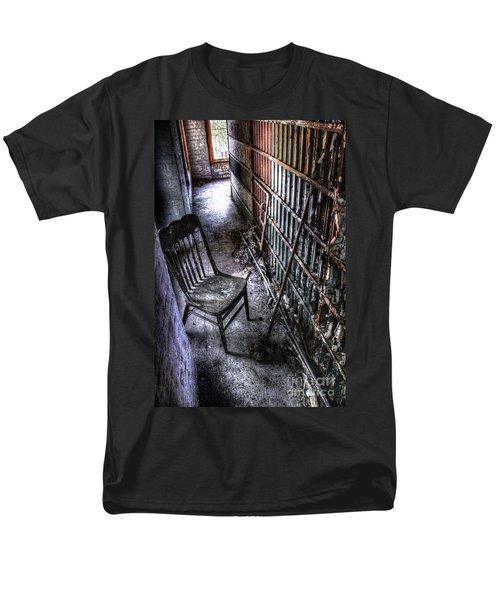 The Last Visitor Men's T-Shirt  (Regular Fit) by Dan Stone