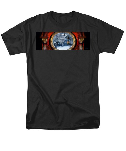 The Light In The Window Men's T-Shirt  (Regular Fit) by Gunter Nezhoda
