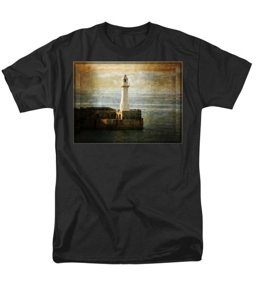 The Lighthouse Men's T-Shirt  (Regular Fit) by Lucinda Walter