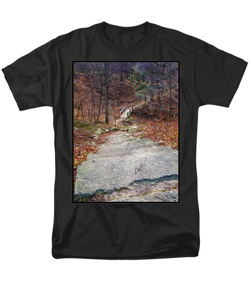 The Long Lonely Trail... Men's T-Shirt  (Regular Fit) by Tim Fillingim