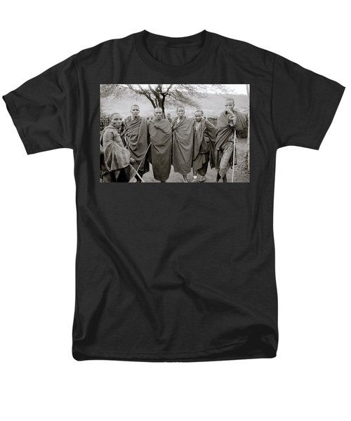 The Masai Men's T-Shirt  (Regular Fit) by Shaun Higson