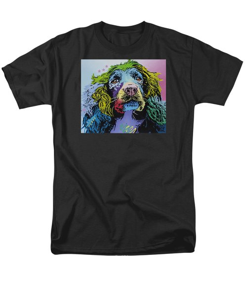 Men's T-Shirt  (Regular Fit) featuring the painting The Master Of Game by Luis Ludzska