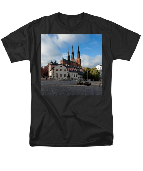 The Medieval Uppsala Men's T-Shirt  (Regular Fit) by Torbjorn Swenelius
