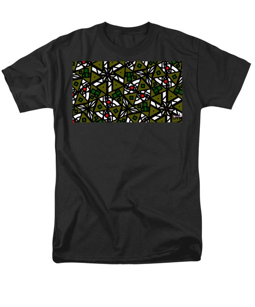 Men's T-Shirt  (Regular Fit) featuring the digital art The Mess Behind It by Elizabeth McTaggart