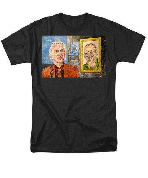 The Mirrored Truth Men's T-Shirt  (Regular Fit)