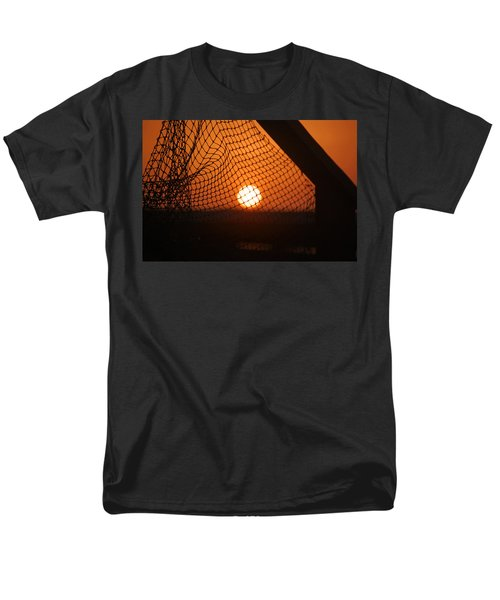 The Netted Sun Men's T-Shirt  (Regular Fit) by Leticia Latocki