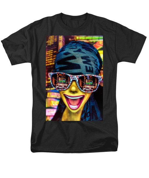 Men's T-Shirt  (Regular Fit) featuring the photograph The New York City Tourist by Chris Lord
