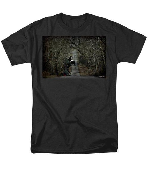 Men's T-Shirt  (Regular Fit) featuring the digital art The Nightmare by Davandra Cribbie