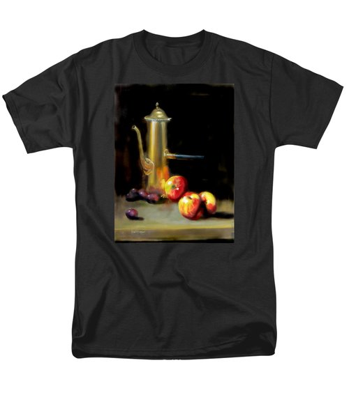 Men's T-Shirt  (Regular Fit) featuring the painting The Old Coffee Pot by Barry Williamson