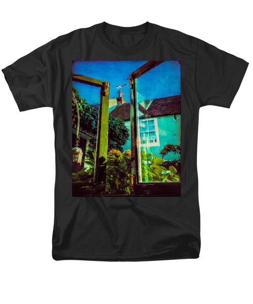 Men's T-Shirt  (Regular Fit) featuring the photograph The Open Window by Chris Lord