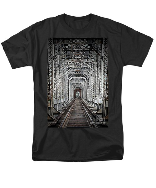 Men's T-Shirt  (Regular Fit) featuring the photograph The Other Side  by Barbara Chichester