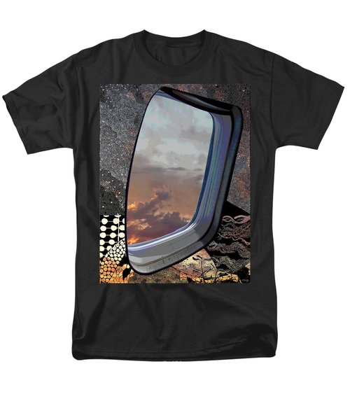 Men's T-Shirt  (Regular Fit) featuring the digital art The Other Side Of Natural by Glenn McCarthy Art and Photography
