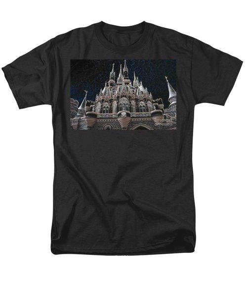 Men's T-Shirt  (Regular Fit) featuring the photograph The Palace by Robert Meanor
