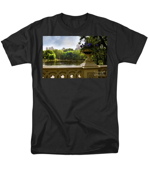 The Park On A Sunday Afternoon Men's T-Shirt  (Regular Fit) by Madeline Ellis
