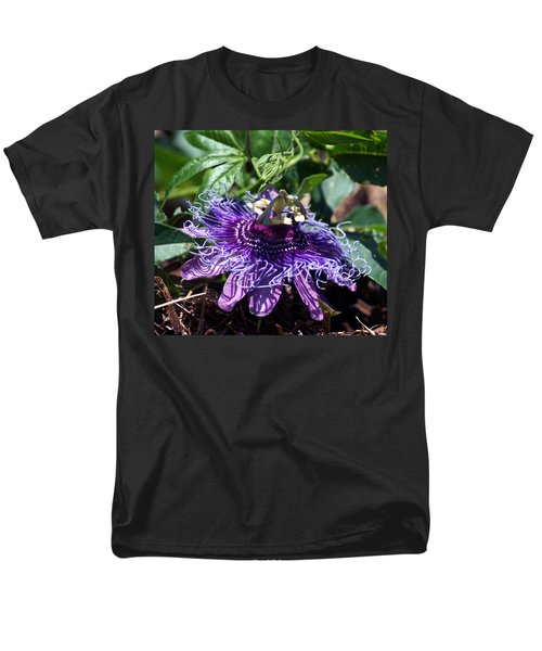 The Passion Flower Men's T-Shirt  (Regular Fit) by Kim Pate