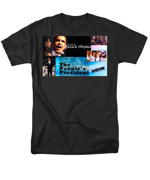 The People's President Still Men's T-Shirt  (Regular Fit) by Terry Wallace