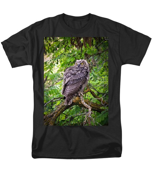 The Perch Men's T-Shirt  (Regular Fit) by Steve McKinzie