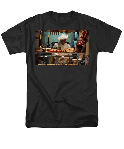 The Pizza Maker Men's T-Shirt  (Regular Fit) by Mary Machare