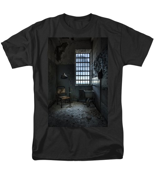 Men's T-Shirt  (Regular Fit) featuring the photograph The Private Room - Abandoned Asylum by Gary Heller