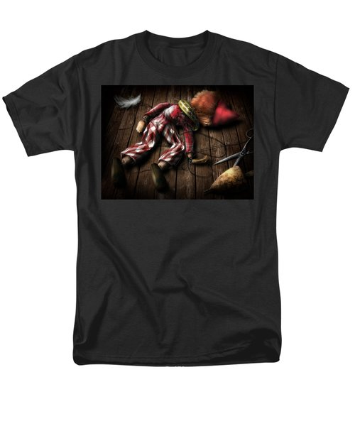 The Puppet... Men's T-Shirt  (Regular Fit) by Alessandro Della Pietra