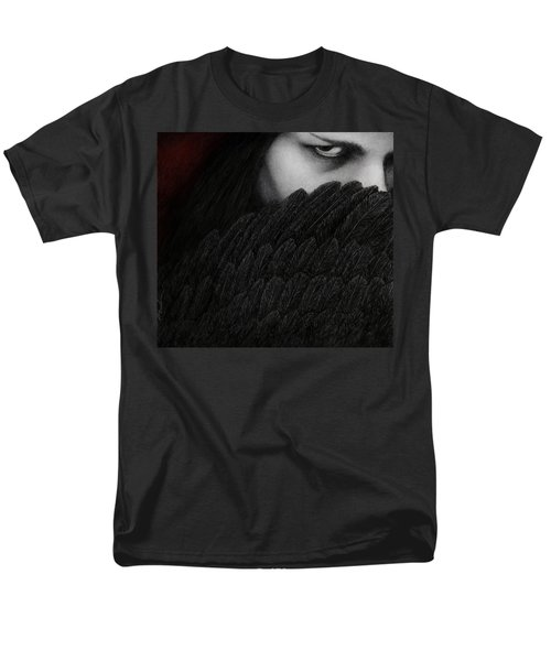Men's T-Shirt  (Regular Fit) featuring the painting The Reckoning by Pat Erickson