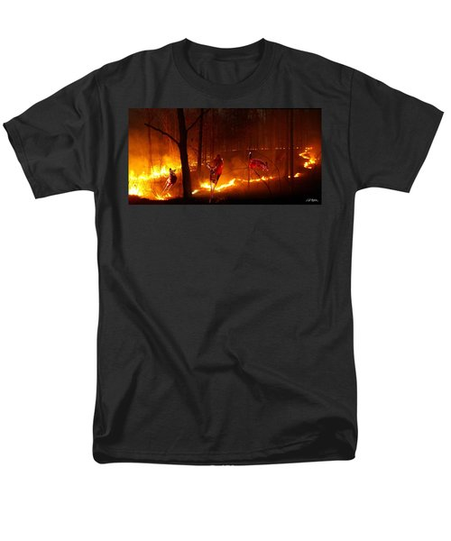 The Ring Of Fire Men's T-Shirt  (Regular Fit) by Bill Stephens
