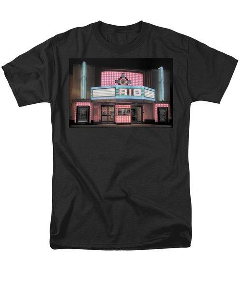 The Rio At Night Men's T-Shirt  (Regular Fit) by Lynn Sprowl