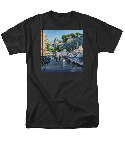 The Rock Ahead Men's T-Shirt  (Regular Fit) by Connie Schaertl