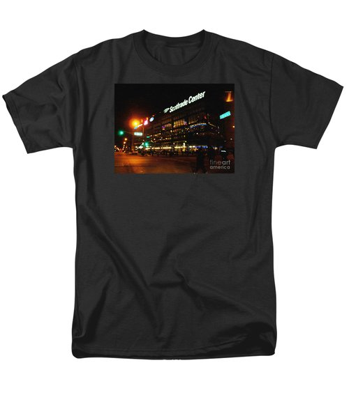 Men's T-Shirt  (Regular Fit) featuring the photograph The Scott Trade Center by Kelly Awad