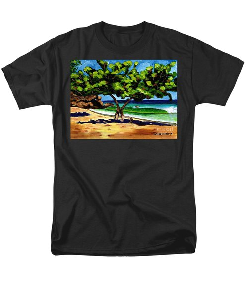 The Sea-grape Tree Men's T-Shirt  (Regular Fit) by Laura Forde