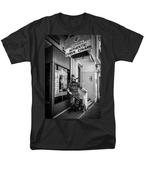 The Sidewalk Humidor  Men's T-Shirt  (Regular Fit) by Melinda Ledsome