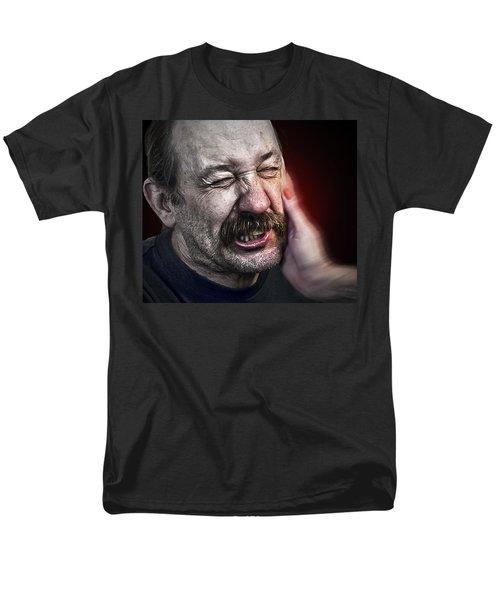 The Slap Men's T-Shirt  (Regular Fit) by Rick Mosher
