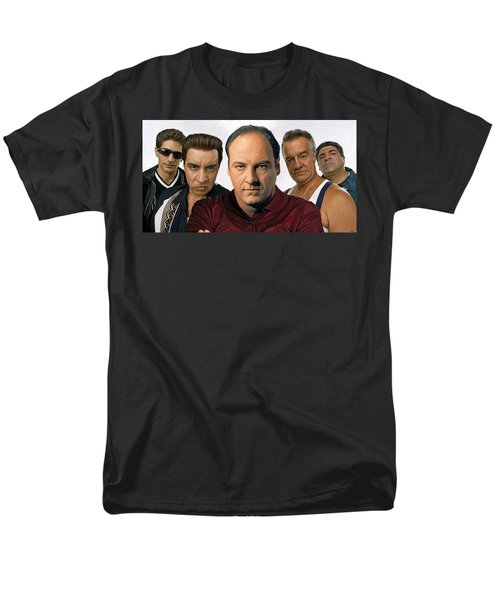 The Sopranos  Artwork 2 Men's T-Shirt  (Regular Fit) by Sheraz A