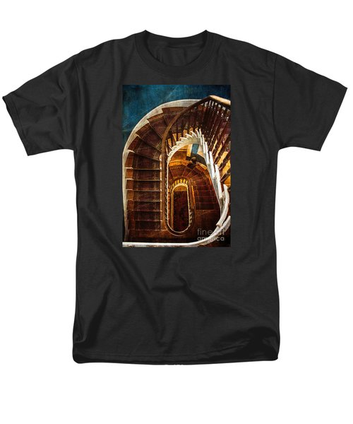 Men's T-Shirt  (Regular Fit) featuring the photograph The Staircase by Arlene Carmel
